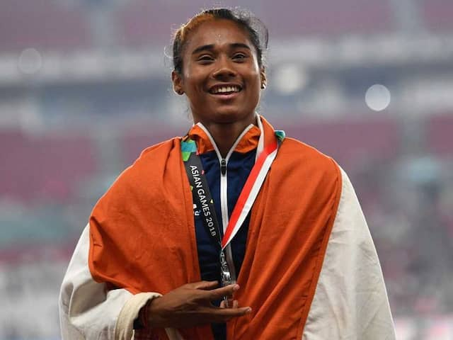 Hima Das Sprints To 4th Gold In 15 Days