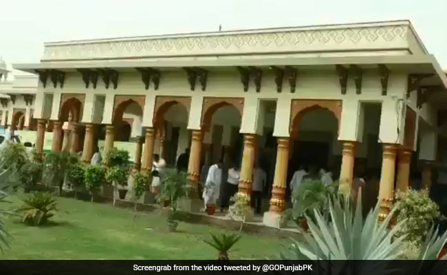 Foundation Stone Of Pak University In Birth Place Of Guru Nanak Dev Laid