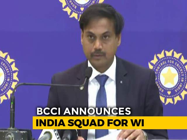 Kohli To Lead India Squad For WI Tour, Bumrah Included In Test Team