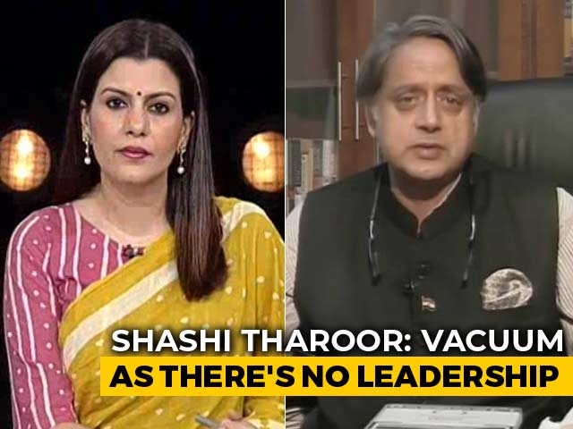 Video : Need To Elect Congress President, Not Select One, Says Shashi Tharoor