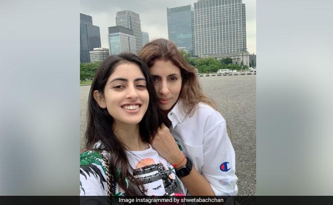 Shweta Bachchan And Daughter Navya Naveli Are Behaving Like 'Unaccompanied Minors' On Japan Vacay. LOL