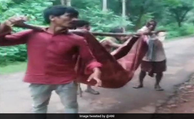 Denied Transportation, Odisha Family Carries Dead Body In A Sling