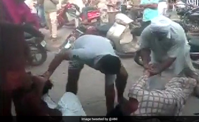 2 Women In Punjab Thrashed In Public Allegedly Over Property Dispute
