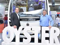 Ashok Leyland Launches Oyster Bus In India