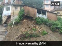 Massive Mudslide Block Chandigarh-Shimla Highway