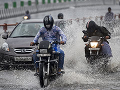 Heavy Rain Hits Parts Of Delhi, More Showers Likely Tomorrow