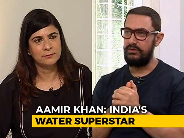 Actor Aamir Khan On India's Impending Water Crisis And Ways To Tackle It