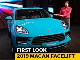 Video : 2019 Macan Facelift First Look