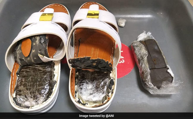 Man Arrested At Kerala's Kannur Airport With Hashish Hidden In Slippers