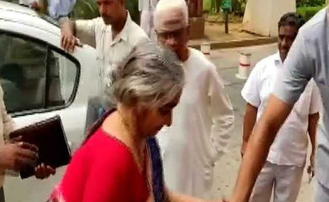 Nirmala Sitharaman's Parents In Parliament To Watch Her 1st Budget Speech