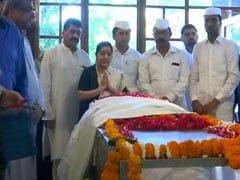 """Friends In Personal Life"": Sushma Swaraj Pays Tribute To Sheila Dikshit"