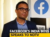 Video : Facebook's India Boss Remains Discreet On Data Localisation