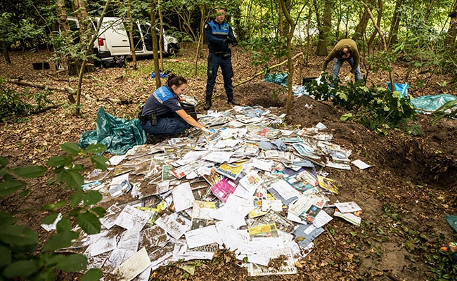 Mystery As Thousands Of Letters Found Buried By Postman In Dutch Forest