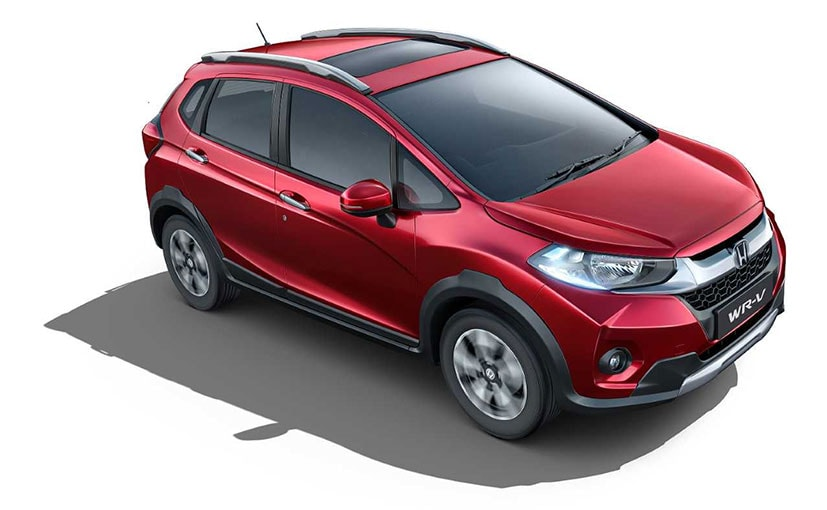The new V variant of the Honda WR-V is positioned between the S and VX variant.