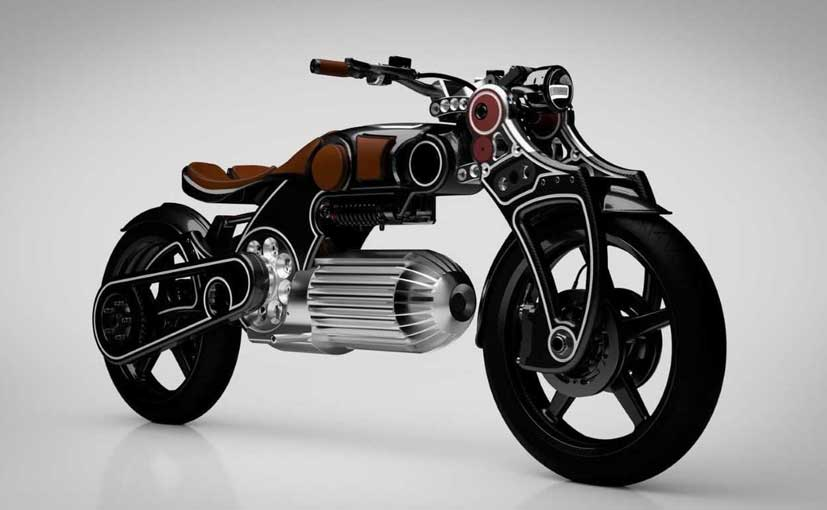 The Hades is an electric design concept from Curtiss Motorcycles