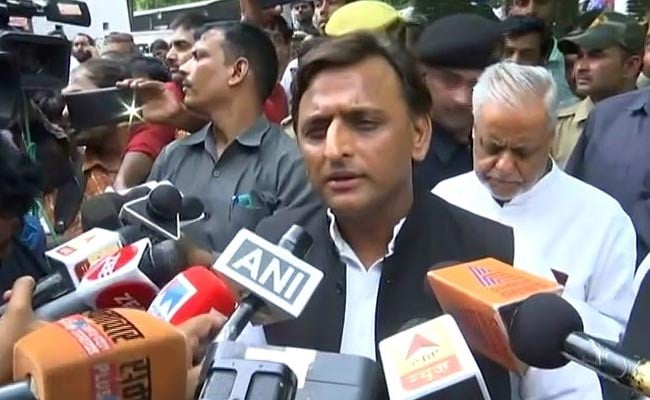 UP Government 'Exposed' In Hathras Rape-Murder Case: Akhilesh Yadav