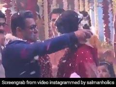 सलमान खान ने रचाई शादी! इस बॉलीवुड एक्ट्रेस को पहनाई वरमाला, Video देख आप भी खुशी से नाच उठेंगे