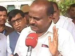 """""""Government Will Survive, Have Full Confidence"""": HD Kumaraswamy To NDTV"""