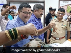 """""""Arrest"""" Crabs: NCP's Jibe At Maharashtra Minister Over Dam Breach Remark"""