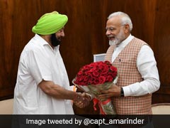 Amarinder Singh Meets PM Modi, External Affairs Minister
