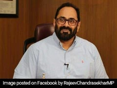 """Don't Blame Me Or Aircraft"": Rajeev Chandrasekhar On Karnataka Crisis"