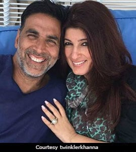 Nothing Stops Twinkle Trolling Akshay, Not Even His Forbes List Ranking