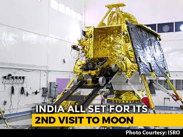 Video : Chandrayaan-2 To Head Near Moon's South Pole, Where Others Have Not Gone