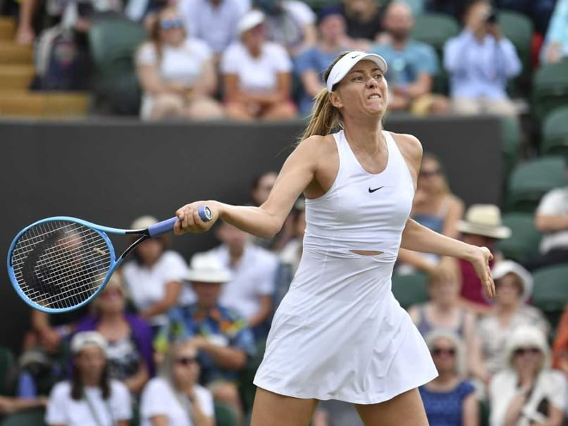 Wimbledon 2019: Maria Sharapova Knocked Out After Losing To Pauline Parmentier In First Round