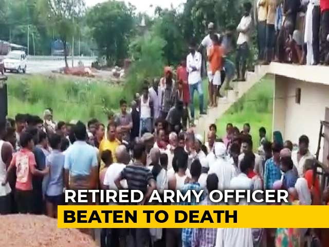 Video : Ex-Army Officer Beaten To Death For Resisting Robbery In Amethi: Police