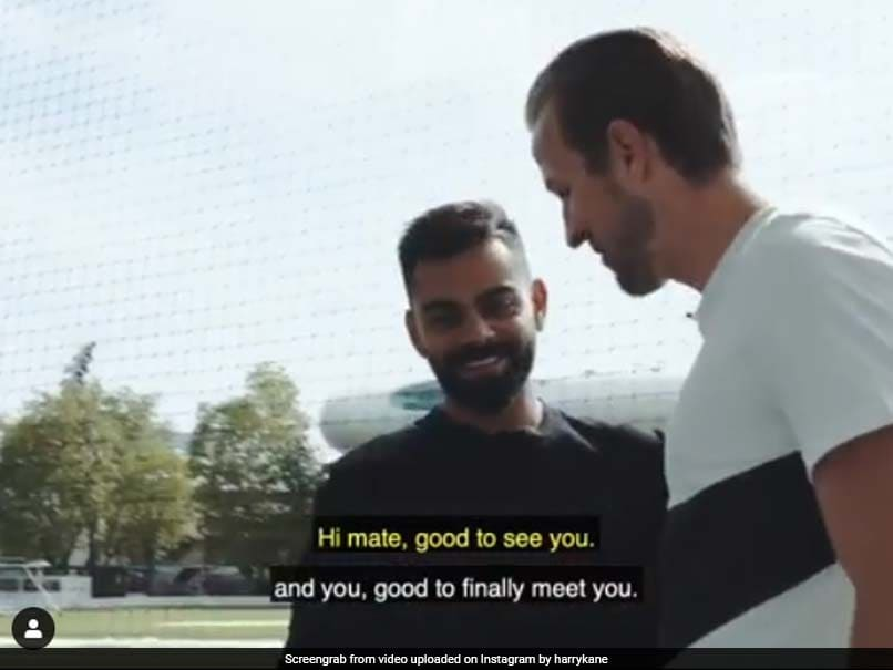 Watch: Harry Kane Impresses Virat Kohli With His Bowling At Lord