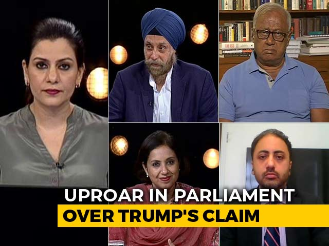 Video : Donald Trump's Comment On Kashmir: Will It Hurt India-US Ties?