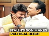 Video : MK Stalin's Son To Head DMK Youth Wing That His Father Led For 35 Years