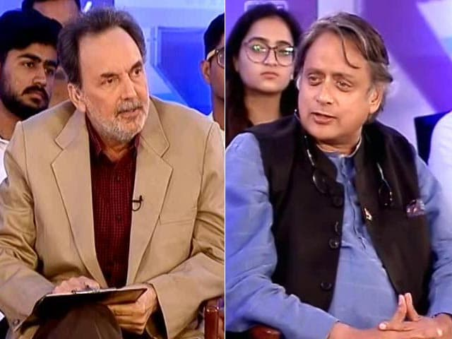 "Video : ""Nothing For 'Aam Aadmi'"": Congress's Shashi Tharoor Reacts On Budget"