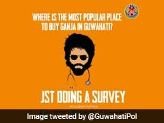 """""""Which Is Most Popular Place To Buy <i>Ganja</i>,"""" Tweets Guwahati Police"""
