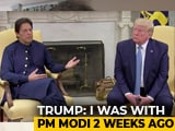 Video : PM Did Not Ask Trump To Mediate On Kashmir: India Counters US President