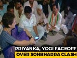 "Video : ""I Won't Leave..."" Says Priyanka Gandhi, Spends Night In UP's Mirzapur"