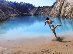 People Fall Ill After Swimming In Insta-Famous Lake That's Actually Toxic Dump