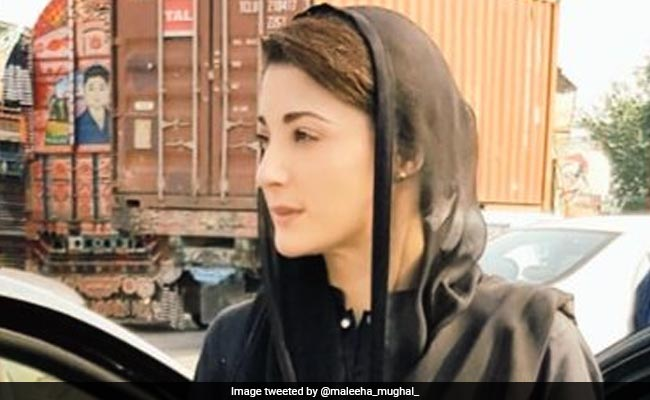 This Is How Maryam Sharif Is Protesting Her Father Nawaz Sharif's Arrest