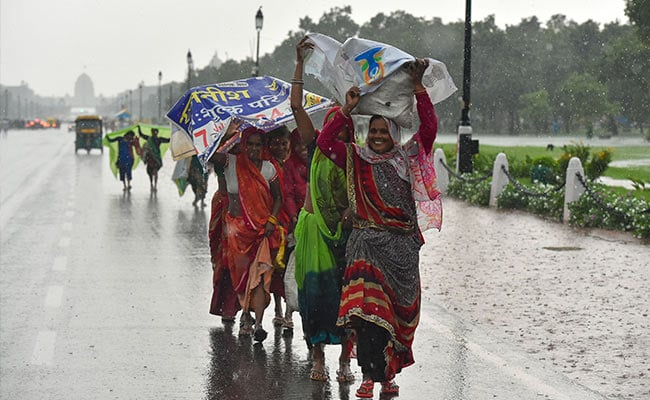 Delhi To Get Light To Moderate Rainfall Till August 7: Weather Department