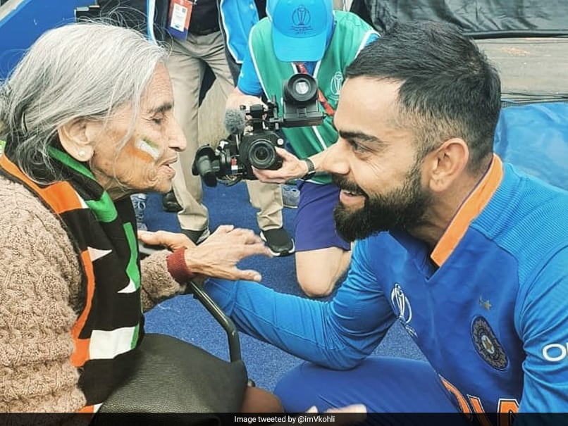 Virat Kohli Takes Blessings From Elderly Indian Fan After Beating Bangladesh In World Cup Tie - Watch