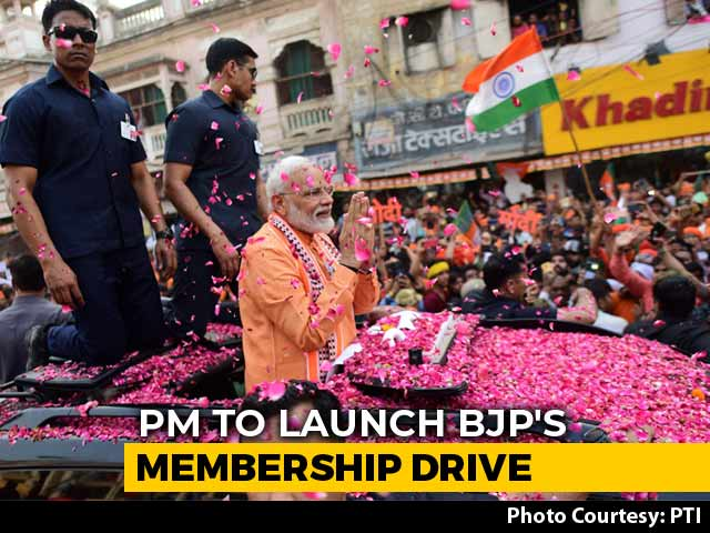 """Video : """"Connect With BJP Family..."""": PM To Launch Membership Drive In Varanasi"""