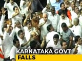 Video : Karnataka Chief Minister HD Kumaraswamy Loses Trust Vote, Coalition Falls
