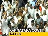 Video : Karnataka Chief Minister HD Kumaraswamy Loses Trust Vote, Coalition Falls