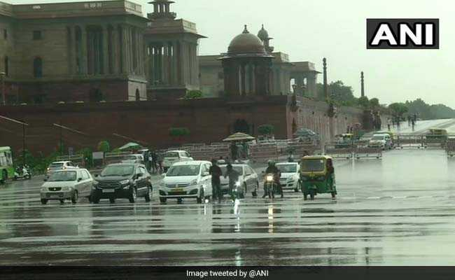 Heavy Rain Hits Parts Of Delhi, More Showers Likely This Week