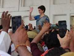 """I'll Be Back"", Says Priyanka Gandhi After Meeting UP Shootout Victims"