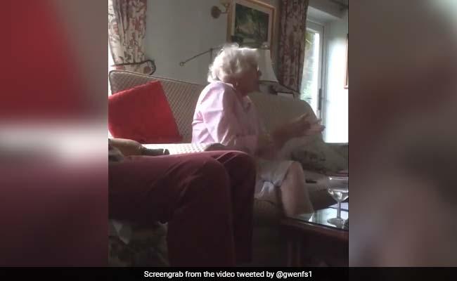 इंग्लैंड ने जीता सांस रोक देने वाला वर्ल्ड कप फाइनल तो दादी ने ऐसे मनाया जश्न, देखें VIDEO