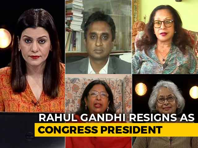 Video : Rahul Gandhi Quits As Party President, What Is Next For Congress?