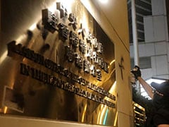 Hong Kong Protesters Egg China Office At End Of Massive Rally