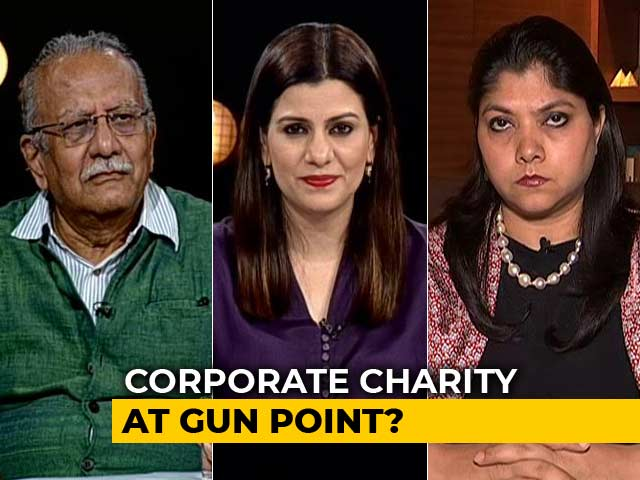 Video : Tighter Corporate Social Responsibility Norms: Corporate Charity At Gunpoint?