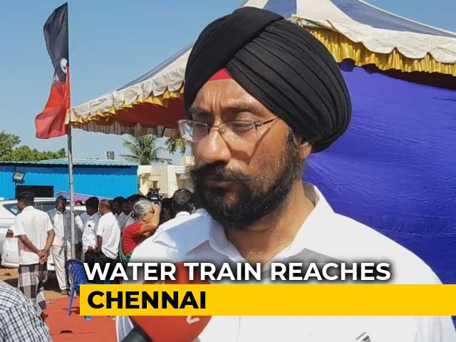 Video : Water Trains To Chennai: Government Has Not Failed, Says Water Secretary